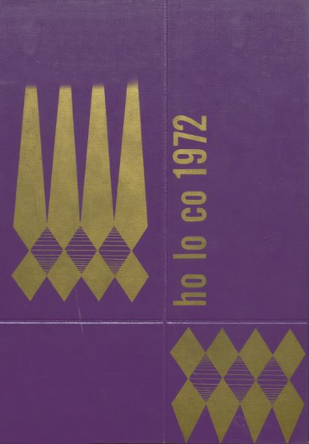 1972 Estherville High School Yearbook Cover