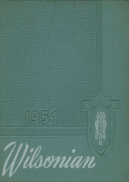 1954 St. Johns High School Yearbook Cover