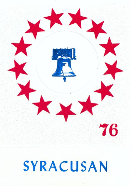 1976 Syracuse High School Yearbook Cover