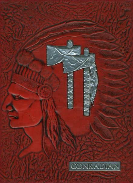 1977 Conrad High School Yearbook Cover