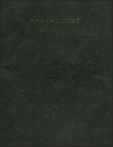 1931 Haverling High School Yearbook Cover