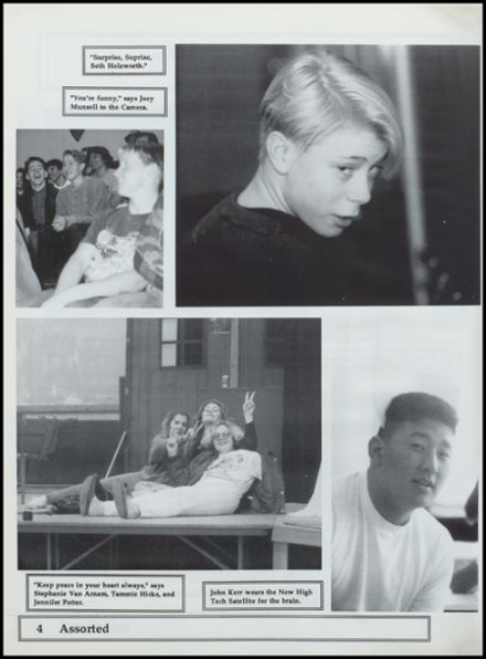 1992 Nestucca Union High School Yearbook Page 8