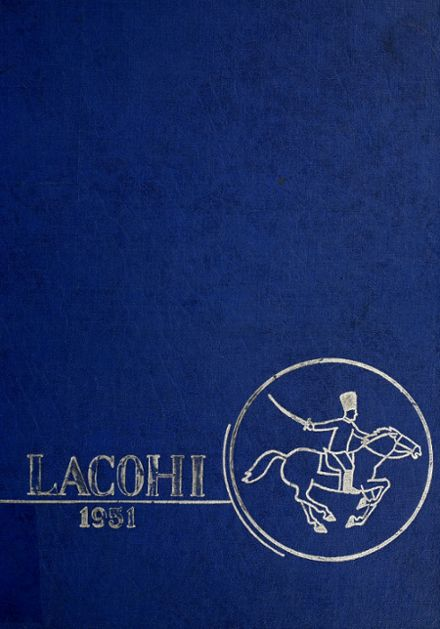 1951 Lafontaine High School Yearbook Cover
