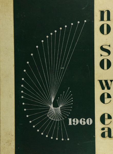 1960 St. Petersburg High School Yearbook Cover