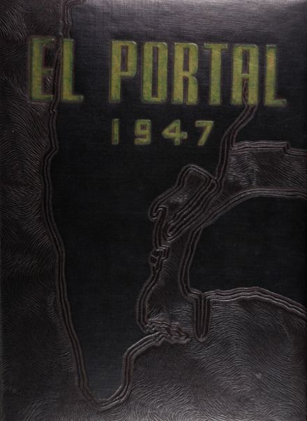 1947 Point Loma High School Yearbook Cover