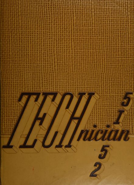 1952 Chicago Vocational Yearbook Cover