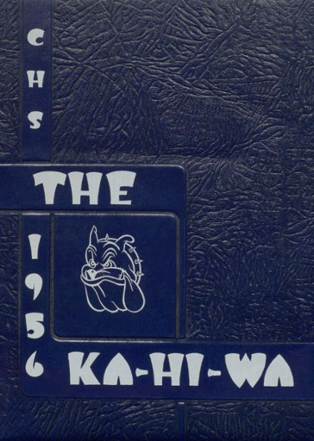 1956 Cashmere High School Yearbook Cover