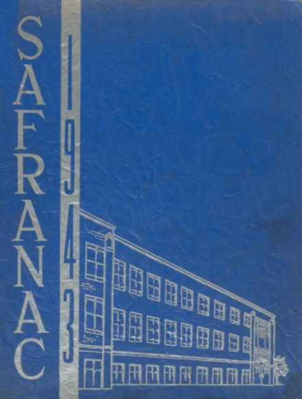 1943 St. Francis Academy Yearbook Cover