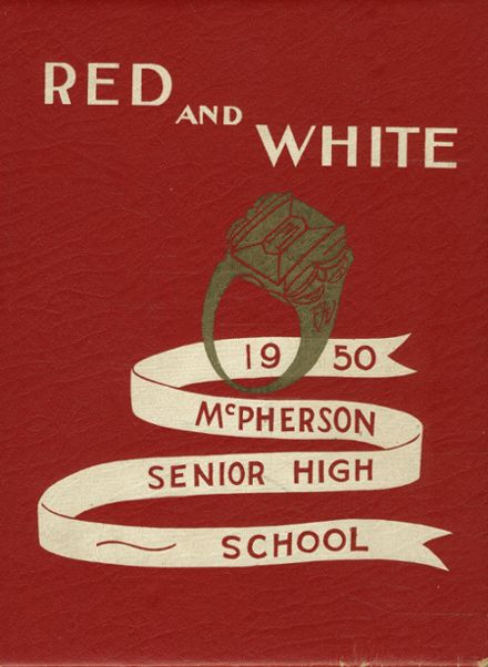 1950 Mcpherson High School Yearbook Cover