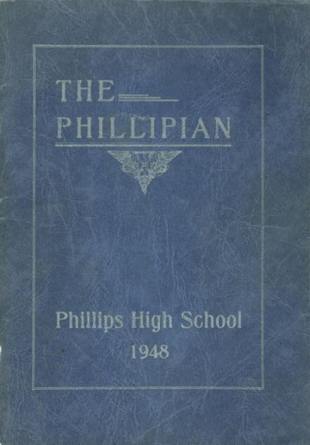 1948 Phillips High School Yearbook Cover