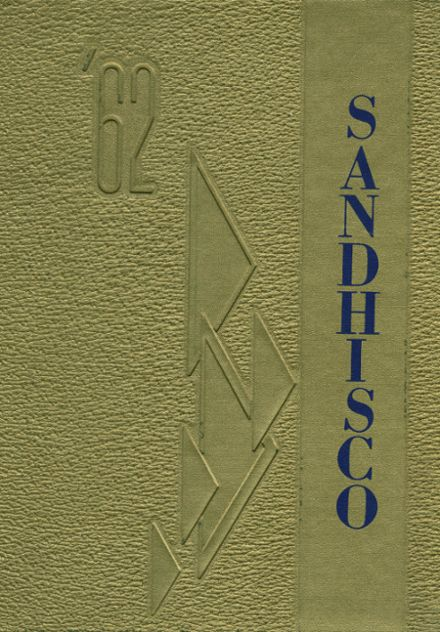 1962 Sandcreek Township High School Yearbook Cover