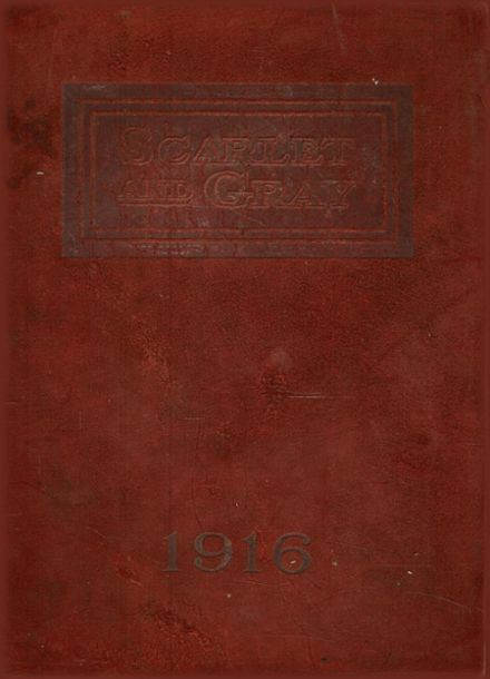 1916 West Lafayette High School Yearbook Cover