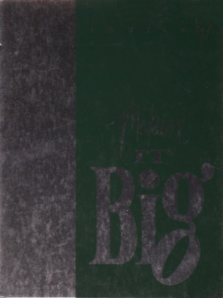 1997 Templeton High School Yearbook Cover
