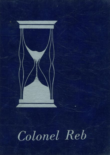 1968 Natchez High School Yearbook Cover