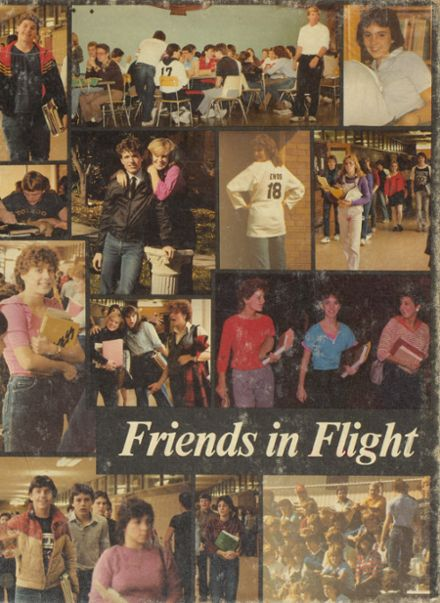 1984 Edsel Ford High School Yearbook Cover