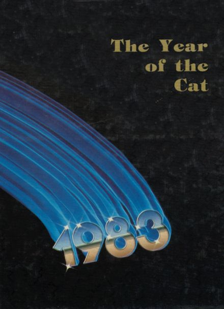 1983 Welch High School Yearbook Cover