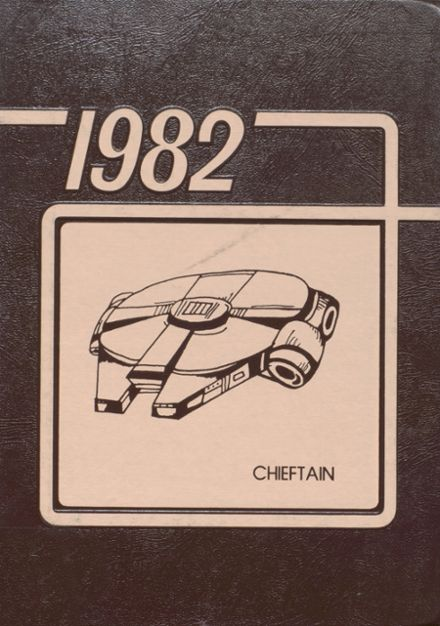 1982 White Cloud High School Yearbook Cover