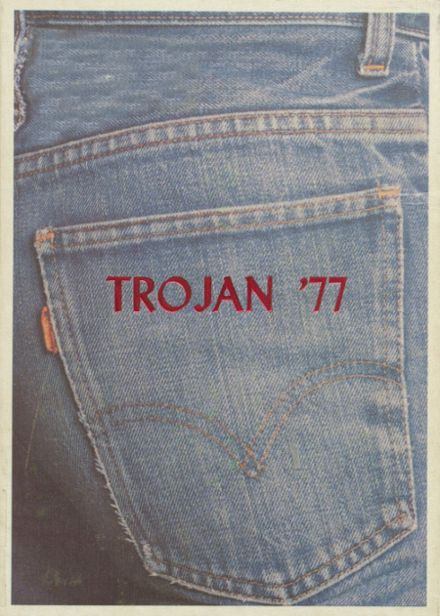 1977 Coldspring High School Yearbook Cover