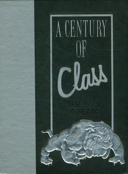 1991 Albuquerque High School Yearbook Cover