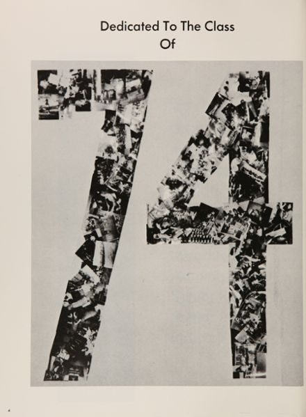 1974 Ringgold High School Yearbook Page 8