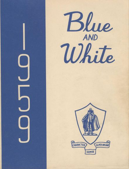 1959 Classical High School Yearbook Cover