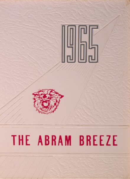 1965 Kingfield High School Yearbook Cover