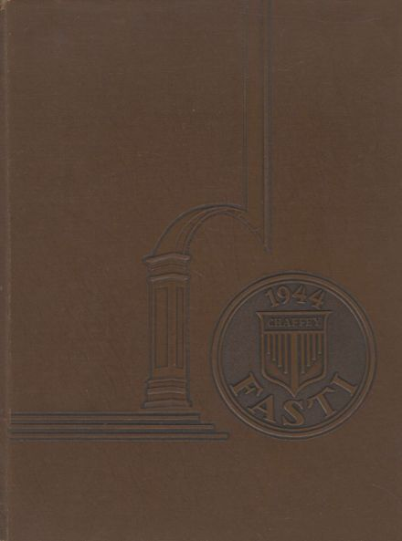 1944 Chaffey High School Yearbook Cover