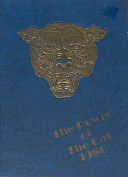 1986 Whiteford High School Yearbook Cover