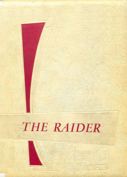 1958 Mead High School Yearbook Cover