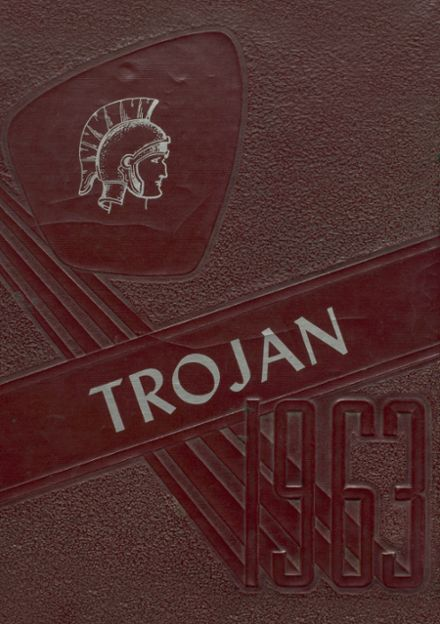 1963 Kirby High School Yearbook Cover