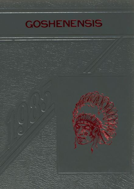 1985 Goshen High School Yearbook Cover