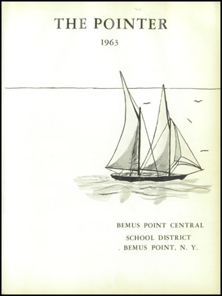 1963 Bemus Point High School Yearbook Page 5