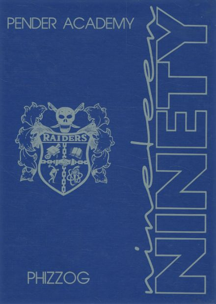 1990 Pender Academy Yearbook Cover