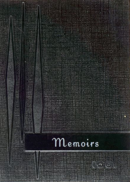 1961 Gibbon High School Yearbook Cover