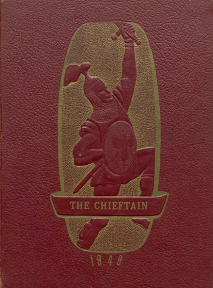 1949 Bardwell High School Yearbook Cover