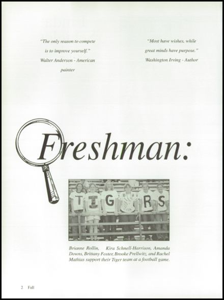 2003 Ripon High School Yearbook Page 6