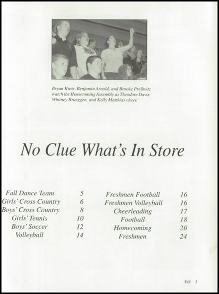 2003 Ripon High School Yearbook Page 7
