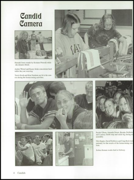 2003 Ripon High School Yearbook Page 8