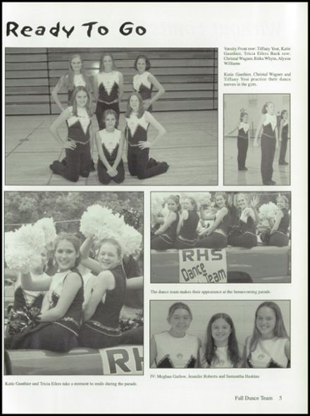 2003 Ripon High School Yearbook Page 9
