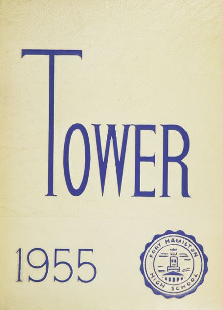 1955 Ft. Hamilton High School Yearbook Cover