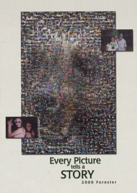 2000 Evergreen High School Yearbook Cover