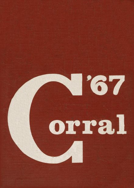 1967 Odessa High School Yearbook Cover