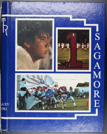 1981 Theodore Roosevelt High School Yearbook Cover