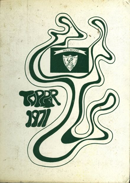 1971 Hillwood High School Yearbook Cover