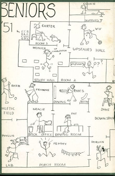 1951 Oxford School for Girls Yearbook Page 2