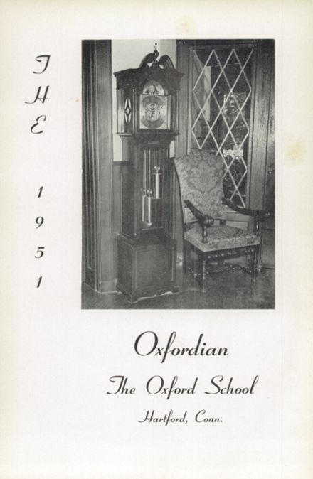1951 Oxford School for Girls Yearbook Page 5