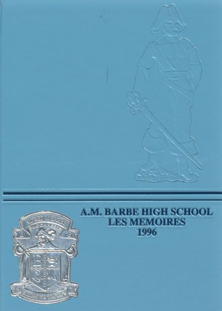 1996 Barbe High School Yearbook Cover
