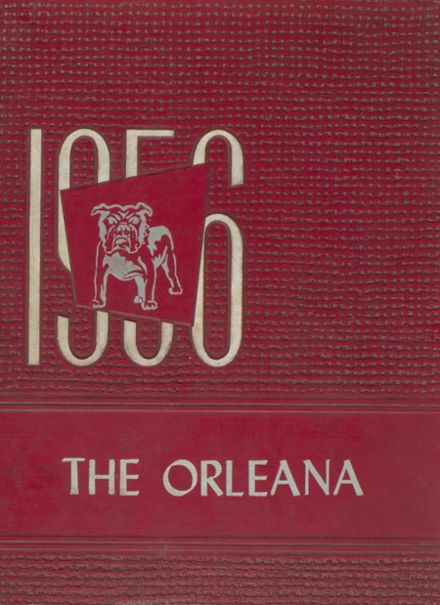 1956 Orleans High School Yearbook Cover