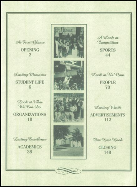 1998 Kennedale High School Yearbook Page 3