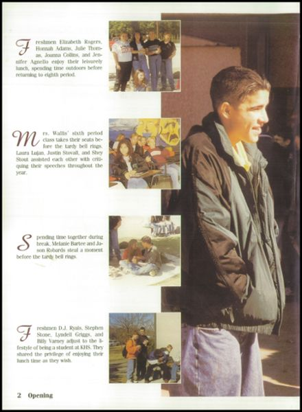1998 Kennedale High School Yearbook Page 6